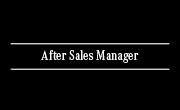 After Sales Manager